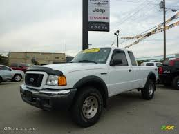 ford jeep 2005 2005 oxford white ford ranger fx4 level ii supercab 4x4 34923763