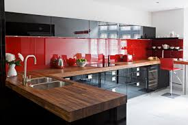 red and black kitchen decorating ideas outofhome