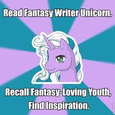 Unicorn Meme - fantasy writer unicorn meme storyteller in the digital age
