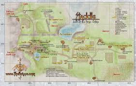Barrows Map Lotro Map Bree Land Staddle