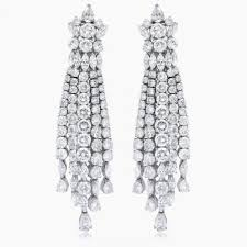 chandelier diamonds vintage chandelier diamond earrings archives allezgisele