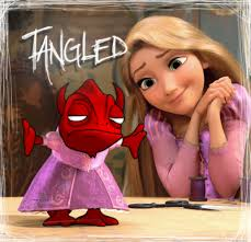 demon u0027s voice disney u0027s tangled values