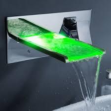 waterfall bathroom sink faucets you ll wayfair