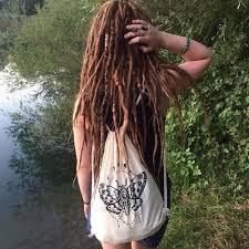 hippie hair wrap lake hippie nature dreads plants dreadlocks hair wrap freespirit