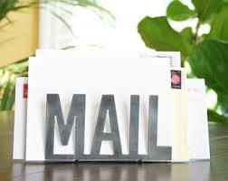 Desk Mail Organizer Mail Organizer Etsy