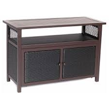 Wicker Accent Table Resin Wicker Buffet Tables Patio Accent Tables On Hayneedle