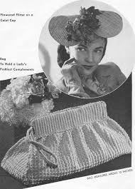 Vintage Crochet Pattern Pdf Fashion by 35 Best Vintage Crochet Accessorize To Perfection Images On