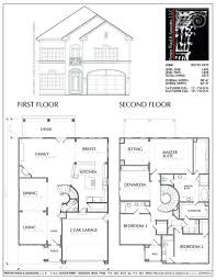 one level duplex craftsman style floor plans plan 1261 bfloor