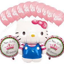 Walmart Baby Shower Decorations 291 Best Hello Kitty Images On Pinterest Foil Balloons Balloon