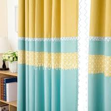 Green Striped Curtains Yellow And Blue Curtains Yellow And Green Curtains Amazing Of