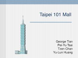 ppt taipei 101 mall powerpoint presentation id 771141