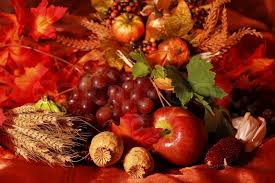 still and harvest or table decoration for thanksgiving stock
