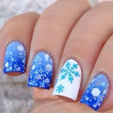 135 best nail art winter images on pinterest snowflakes make