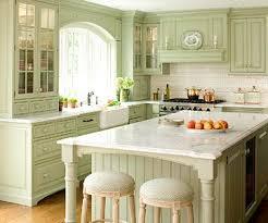 Light Green Kitchen Cabinets Green Kitchens Lightandwiregallery Com