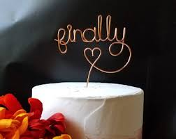 wire cake toppers custom handmade wire creations for special by lerusticchic on etsy