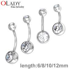 aliexpress belly rings images Belly button rings piercing body jewelry 100 titanium ombligo jpg