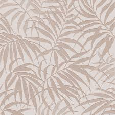graham u0026 brown pure beige u0026 rose gold tropical leaf metallic