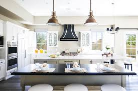 Standard Kitchen Design by Mediterranean Kitchen Design With Round Dining Table Dark Wood