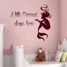 Mermaid Nursery Decor Wall Decal Best Decor Mermaid Decals For Walls Mermaid Wall