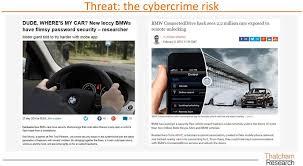 bureau d ude automobile quantifying the risk of the connected and autonomous vehicle pdf