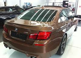 new paint color for the m5 individual cognac bmw post