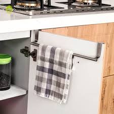 kitchen portable paper towel rack over door towel rack bar hanging
