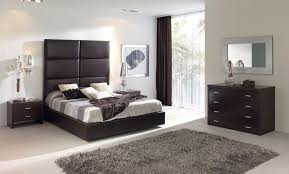 modern design and unique euro style brown storage bedroom set