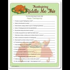 thanksgiving riddles for or adults who like corny humor