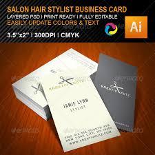 hair dresser business cards bestdressers 2017