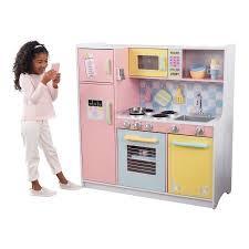 kidkraft island kitchen kidkraft large pastel kitchen walmart
