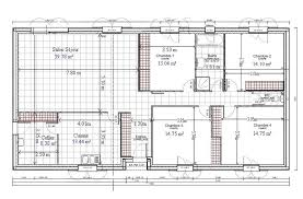 plan maison 4 chambres plain pied gratuit plan de maison plain pied gratuit 4 chambres 1 architecture