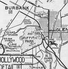 griffith park map abandoned known airfields california central los