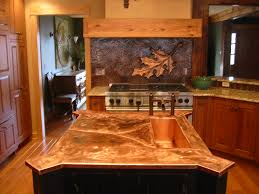 Kitchen Backsplash Murals Trendy Copper Kitchen Backsplash 42 Copper Patina Kitchen