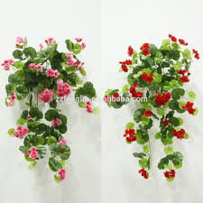 artificial hanging flowers gardens and landscapings decoration