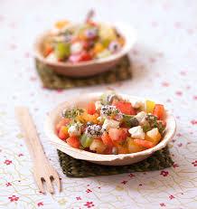 fleur de thym cuisine salade de tomates anciennes aux fleurs de thym et feta les