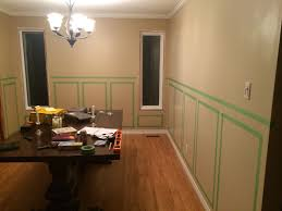 wainscoting in dining room gold carving wooden glass top dining
