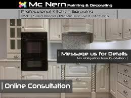 solid wood kitchen cabinets ireland mc nern professional kitchen spraying home