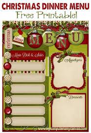 christmas menu borders professional u0026 high quality templates