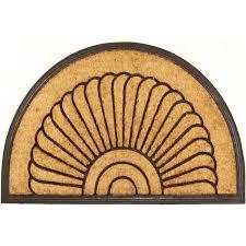 Coco Doormat Envelor Home Coir Coco Doormat U0026 Reviews Wayfair Ca
