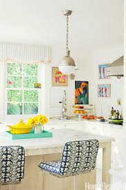 Beachy Kitchen Table by Popular Kitchen Paint And Cabinet Colors Colorful Kitchen Pictures