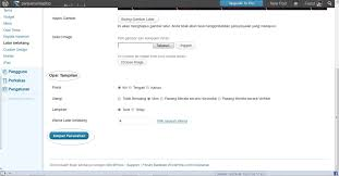 cara membuat background di blog wordpress cara mengganti background di wordpress faiz blog