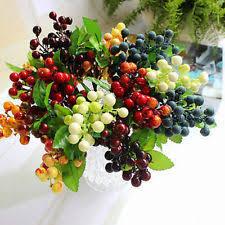 Wedding Garden Decor Artificial Flower Bouquets Ebay