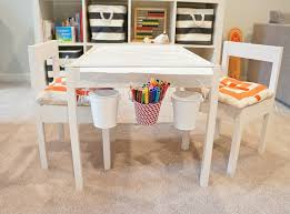 Container Store Chair Ikea Latt Children U0027s Table And Chairs Contemporary Basement