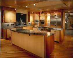 Mixed Wood Kitchen Cabinets Mixed Wood Kitchen Southwestern With Two Islands Incandescent