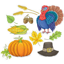 thanksgiving symbols stock vector image of vegetables 44674734