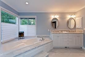 Bathroom Tile Ideas White Carrara by Engaging Carrara Marble Bathroom Carrarae Subway Tiles Countertops