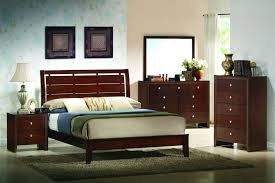 bedroom astonishing rich cherry wood queen panel of low profile