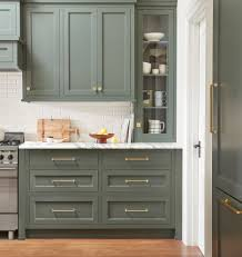how are cabinets in a kitchen green kitchen cabinets centsational style