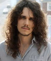 mens middle parting hairstyle long curly hairstyles and haircuts guide for men long hair guys