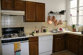 Paint Kitchen Countertops Kitchen Extraordinary Painted Brown Kitchen Cabinets Before And